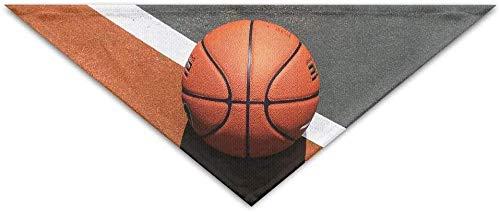 iuitt7rtree Basketballplatz-Dreieck-Haustier-Schal-Hundebandana-Haustier-Krägen-Hundekatze - Geburtstag