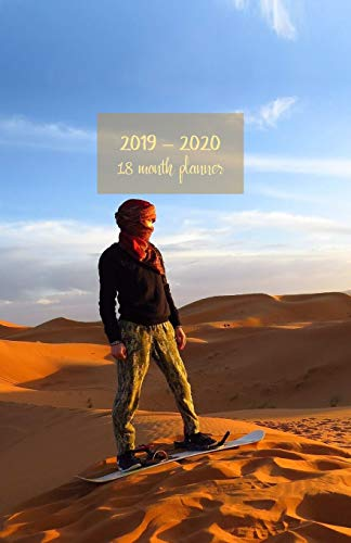 2019 - 2020 18 month planner: July 19 - Dec 20. Monday start week. Monthly and weekly planner with TO-DOS. Includes Important dates, 2021 Future ... 8.5' x 5.5'. (Portable) (Sandsurfer cover).