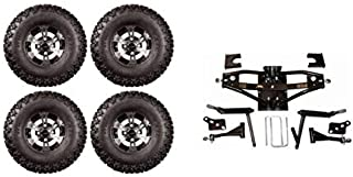 3G Lift Kit Combo with 10 inch Colossus for Club Car DS Golf Carts 1984 to 2003