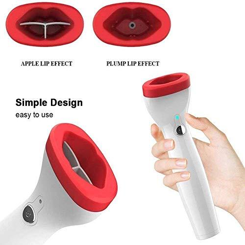 JYZ Lip Plumper Device, USB Automatische Silikon Dicker Lippen Plumping Werkzeug,3 Geschwindigkeit Einstellbar Für Sexy Lips Frauen Und Mädchen