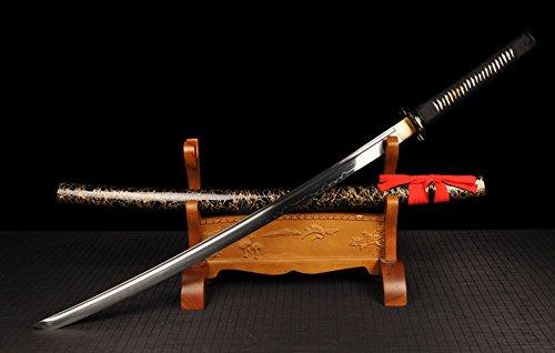 FARDEER Handgemachtes Japanisches Katana Hochwertiges Dongyang Messer Nicht offene Kante WSD-092