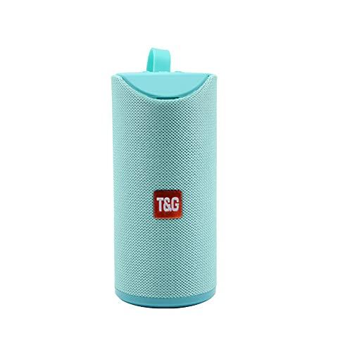 Altavoz Bluetooth Portátil TG-113A 10W 500mAh Sonido Envolvente Sonido 3D Superbass IPX5 Waterproof (Azul Celeste)