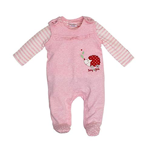 SALT AND PEPPER Baby Strampler Igel warm Rose 95824247 (68)