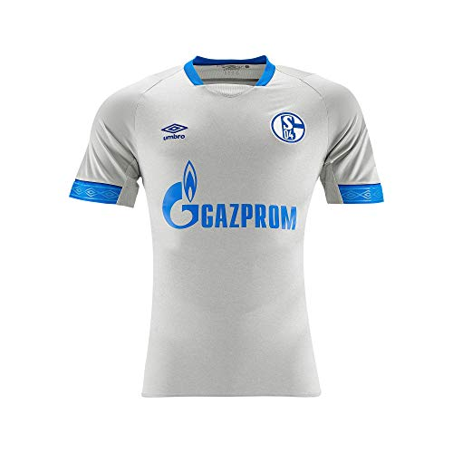 FC Schalke 04 Umbro Trikot Away 18/19 (M, grau/blau)