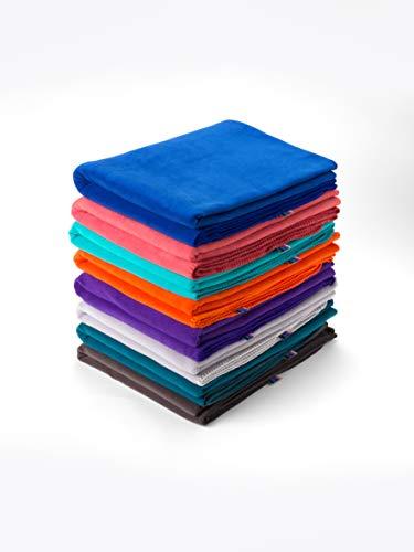 Yogamatters Fleece Yoga Blanket (Purple)