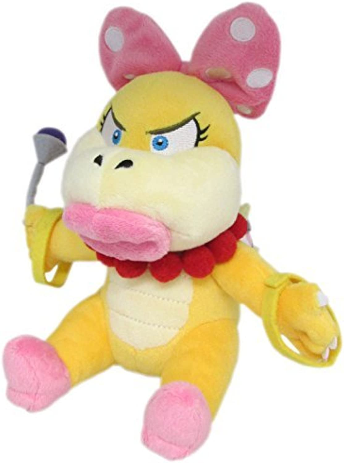 Little Buddy Super Mario Series Wendy Koopa 7  Plush by Super Mario Bros.