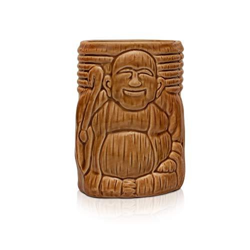 Dehua Buddha, Cocktail Gläser, [Tiki Becher Mixen von Cocktails], Tiki Mug aus Keramik, Tiki Bar Zubehör, Partydekoration, Jetzt Aussuchen