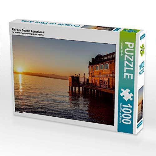CALVENDO Puzzle Pier des Seattle Aquariums 1000 Teile Lege-Größe 64 x 48 cm Foto-Puzzle Bild von TomKli