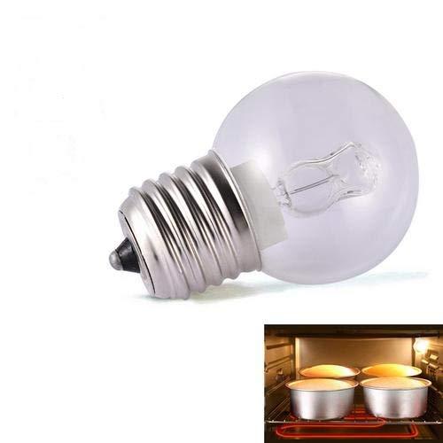 lennonsi Backofenlampe E27 40W hitzebeständiges Licht 110-250V 500 ° C