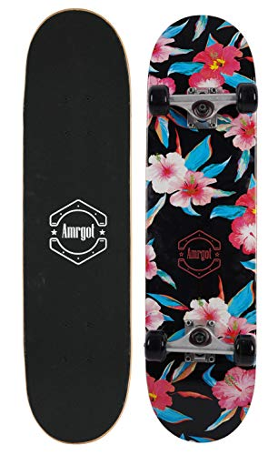 Amrgot Skateboards Pro 31 inches Complete Skateboards 25