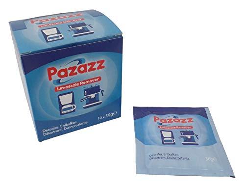 PAZAZZ Coffee Maker Descaler for Espresso Machine DELONGHI SAGE GAGGIA...