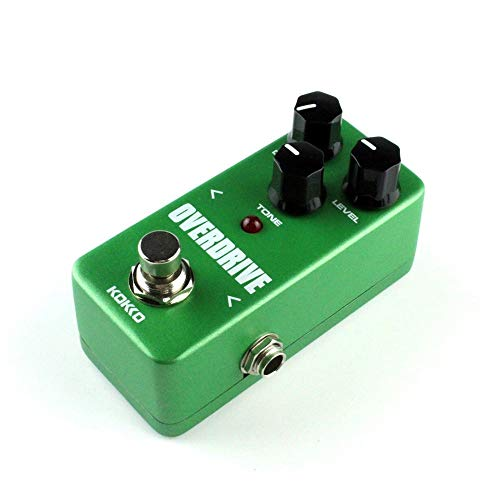 Mini Vintage Overdrive Chitarra Effetti a pedale Guitarra Overdrive Booster High-Power Tube Overload Guitar Stompbox FOD3