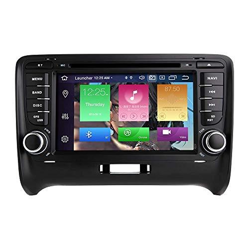 """JFFFFWI Für Audi TT MK2 Android 10.0 Octa Core 4 GB RAM 64 GB ROM 7""""Auto DVD Player Radio Stereo GPS System Unterstützung Auto Auto Play/TPMS/OBD / 4G WiFi / DAB1"""