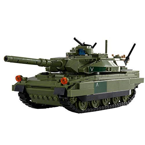 BerighTIo Juegos militares de construcción de tanques - TYPE10 bloques de construcción principales de tanque 806 piezas modelo tanque juguetes para niños y adultos compatibles con LEGO