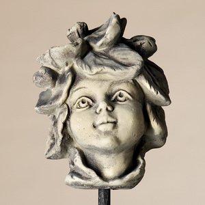 Blumenkind Apfelblüte, Figur aus Steinguss