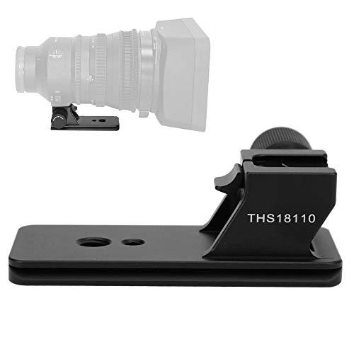 Mugast reservevoet voor lens, robuuste reservevoet van aluminiumlegering compatibel met Sony FE PZ 18-110 F/4 G OSS