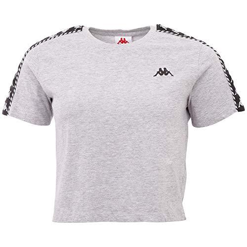 Kappa INULA Women T-Shirt, Alto Rischio, Melange, S Donna