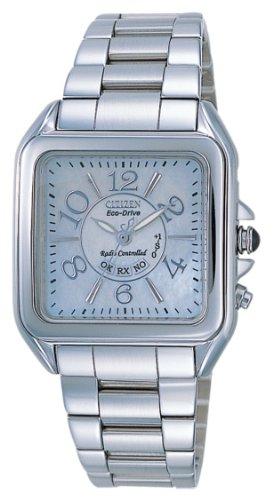 Citizen ES4010-57W - Reloj analógico de Cuarzo para Mujer, Correa de Acero Inoxidable Multicolor
