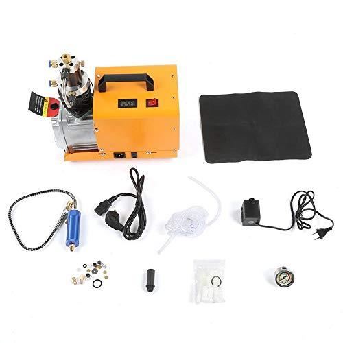 Hochdruck-Luftkompressorpumpe, 0-40 MPa 1800 W Elektrische Hochdruck-Luftkompressorpumpe 70 dB Paintball-Füllstation zur Brandbekämpfung und zum Tauchen(EU Plug 220V)