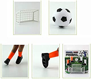JSPOYOU Ideal Party Finger Soccer Match Toy Funny Finger Toy Game Sets with Two Goals