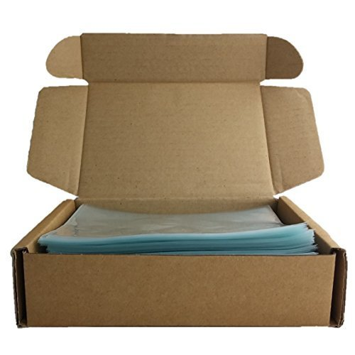 500 ODORLESS Shrink Wrap Bags for Bath Bombs, Soap Bars and Other Small Items (6x6 Inch, 100 Gauge)