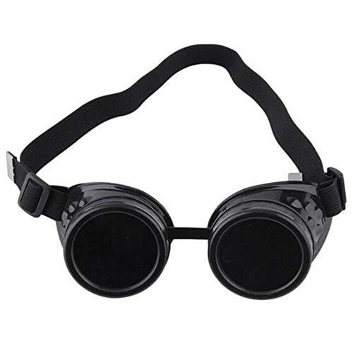 Bril Steampunk bril Vintage Retro lassen Punk Gothic zonnebril Stijlvolle Steampunk bril Bril Wielrenbrillen