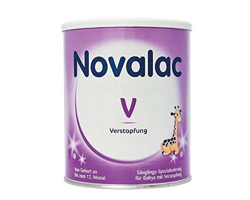Novalac V Spezialnahrung bei Verstopfung, von Geburt an, 2er Pack (2x800g)