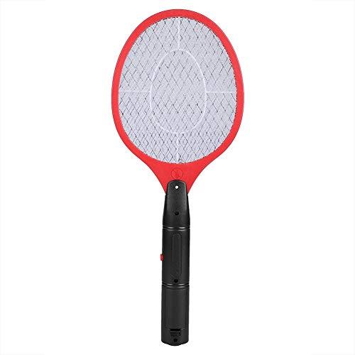 Unibell Cordless Battery Electric Power mosca zanzara Swatter Bug Zapper Racket Insetti Killer Red