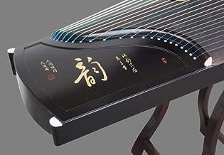 Sound of Mountain 21 String Black Sandalwood Guzheng Instrument Chinese Zither Koto Gu Zheng