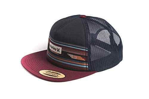 Hurley M Printed Square Trucker Gorra, Hombre, Mystic Dates, 1SIZE