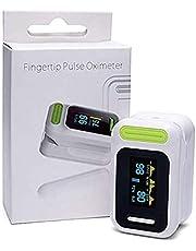 Pulsoxymeter Vingertop, SPO2 Monitor Vingertop Oxygen Monitor Met Kleuren OLED/Audio Alarm / Spo2 Monitor Finger Puls Automatische Shut-Down