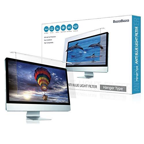 BozaBoza Anti blaulichtfilter - acryl Anti blaulicht-Schirm-Schutz für Laptop, Notebook, Monitor 22' Wide Monitor (universal 20'~ 22')