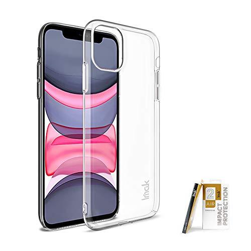 COPAAD Funda para iPhone 11, ultra delgada, resistente al desgaste, transparente, rígida para iPhone 11