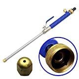 Winvin High Pressure Power Washer Wand, Watering Sprayer Cleaning Tool, Hydro Jet Water Hose Nozzle,Water Hose Wand Attachment Colour Blue