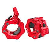 MoKo Barbell Clamps Collars, Quick Release Pair of Locking 2 inch Professional Olympic Weight...