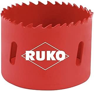 RUKO 106200 High Speed Steel Bi-Metal Hole Saw, 8-1/4