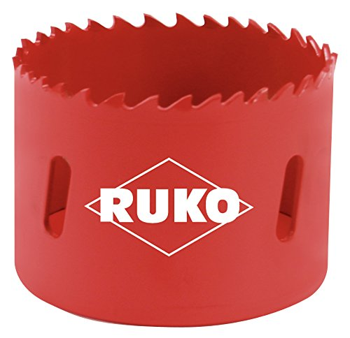 RUKO 106200 High Speed Steel Bi-Metal Hole Saw, 8-1/4'