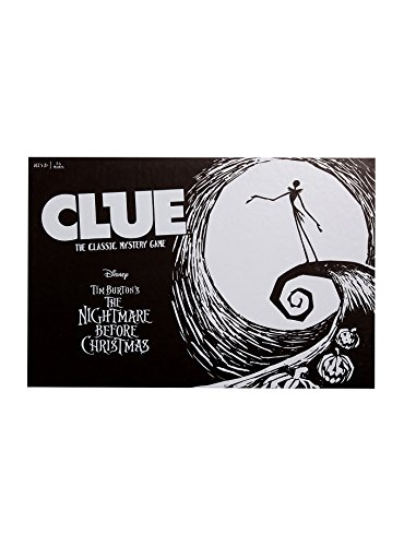 Nightmare Before Christmas Clue: The classic Mystery Game