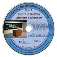 Lecturing for Effective Learning: Clarity in Teaching, Classroom Environment, Disc 2 [DVD]