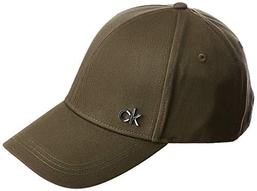 Calvin Klein Herren K50k505182 Mütze, Schal & Handschuh-Set, Grün (Dark Olive Lbb), One size (Herstellergröße: OS)
