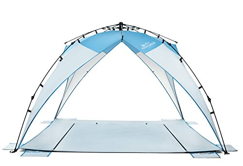Pacific Breeze Sand & Surf Beach Shelter (Pacific Breeze Sand & Surf...