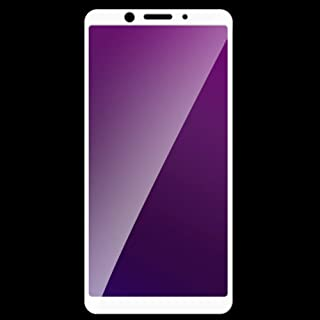 Metermall Good for 3D Full Coverage Anti Purple-ray Tempered Glass Screen Protector white OPPO A83/A1