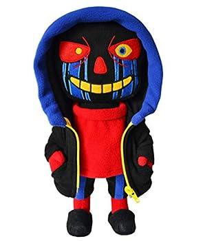 Nobrand Set Undertale Errortale Sans & Flowey Plush Figures Stuffed Toys for Kids Gifts  1 Sans