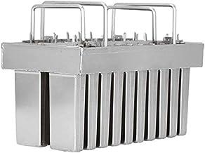 20PCS Industrial Stainless Steel Ice Cream Molds Frozen Popsicle Models Kit