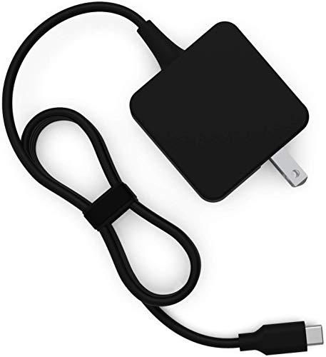 Bitomic 45W Power Supply for Lenovo Chromebook 4GX20N20876 4X20M26252 100e 300e 500e | Compatible w/Lenovo ThinkPad X1 Yoga Carbon 4x20e75131 USB-C | 45W 20V 2.25A Replacement USB Power Supply