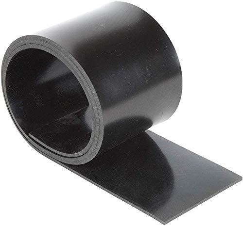 Gummistreifen 5mm dick 100mm breit/wählbar 1m bis 10m Länge Vollgummi Hartgummi Gummi (1m)