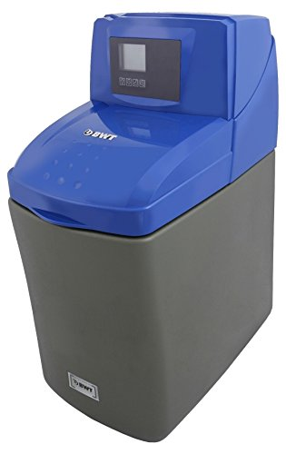 BWT WS555 Hi Flow Electronic Demand Block/Tablet Water Softener, Blue, 14 Litre