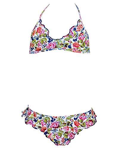 Red Point Beachwear, Kids, Bikini niña, Top Ausgeschnitten - Hüfthöschen, Acandi, EU Grösse: 110 cm, bunt