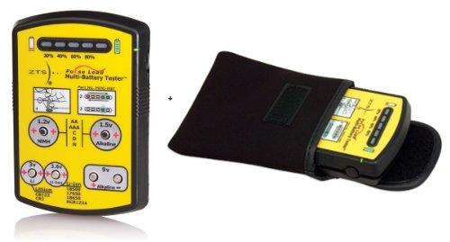 ZTS Mini Battery Tester (MINI-MBT) Bundle with Protective Soft Case for MINI-MBT Battery Tester