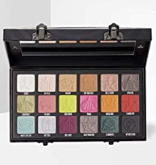 This Jeffree Star conspiracy palette is a collaboration with Shane Dawson. It combines the style and choice of them both in this stunning eyeshadow palette A combination of 18 shades in a mix of Matte, Metallic & Foil shades. Top Row L-R: Ranch, My P...